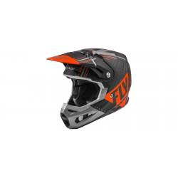 Motokrosová helma FORMULA VECTOR , FLY RACING - USA (matná/oranžová/šedá/černá) + Brýle zdarma