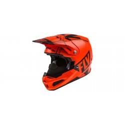 Motokrosová helma FORMULA VECTOR , FLY RACING - USA (neonová oranžová/černá) + Brýle zdarma