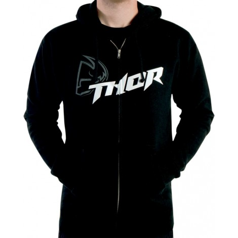 Mikina Thor Fusion zip černá