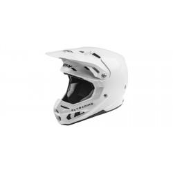 Motokrosová helma FORMULA SOLID , FLY RACING - USA (bílá leská) + Brýle zdarma