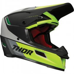 Motokrosová helma Thor REFLEX APEX ACID/GRAY MIPS HELMET 2021