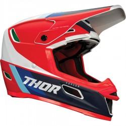 Motokrosová helma Thor REFLEX APEX RED/WHITE/BLUE MIPS HELMET 2021