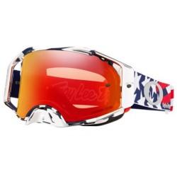 MX brýle Oakley Airbrake Prizm MX TroyLeeDesigns Patriot RWB Goggle