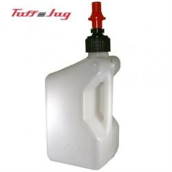 Kanystr na benzín TUFF JUG Utility Can Ripper Cap 20l bílý motoc