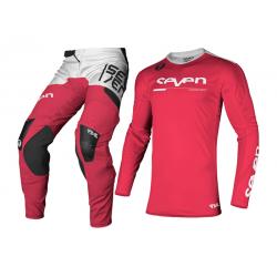 Motokrosový komplet Seven MX 2021.1 Rival Rampart - Flo Red