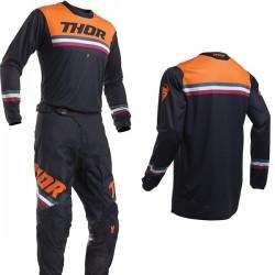 Motokrosový komplet Thor S20 PULSE PINNER Midnight Orange 2020