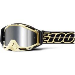 Motokrosové brýle 100% Racecraft Plus Jiva silver (zrcadlové sklo stříbrné)