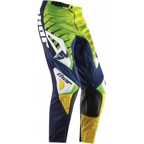 Motokrosové kalhoty Thor Phase Vented rift lime MX kalhoty
