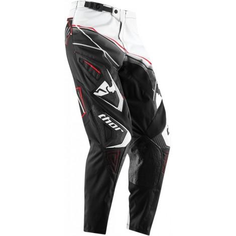 Motokrosové kalhoty Thor Phase Prism black MX kalhoty