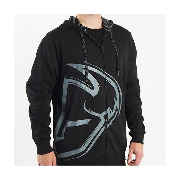 Mikina Thor Motocross Split Zip-Up Hoodie černá Civilní oblečení ... 4759adb2ed