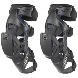 Ortézy na kolena pro motokros enduro  POD K8  pár Knee Brace Carbon