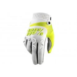 Motokrosové rukavice 100%  Airmatic bílé MX/Bike