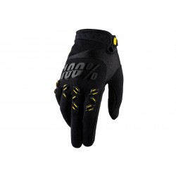 Motokrosové rukavice 100%  Airmatic černé MX/Bike