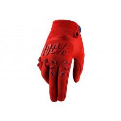 Motokrosové rukavice 100%  Airmatic červené MX/Bike