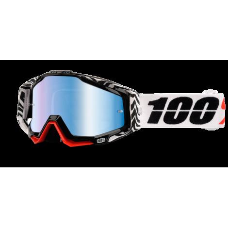 Motokrosové brýle 100% Zoolander se zrcadlovým i čirým sklem 2017