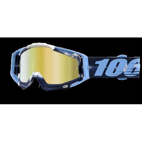 Motokrosové brýle 100% TieDye se zrcadlovým i čirým sklem 2017
