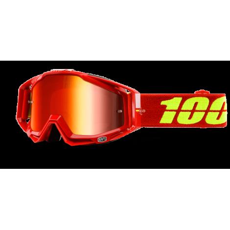 Motokrosové brýle 100% Corvette se zrcadlovým i čirým sklem 2017