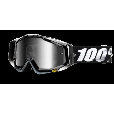 Motokrosové brýle 100% Abyss Black s čírým sklem 2017