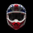 Motokrosová helma Bell Moto-9 Flex Vice Blue/Red Carbon 2017