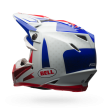 Motokrosová helma Bell Moto-9 Flex Vice Blue/Red Carbon 2017